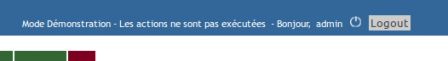 Notification du mode de fonctionnement